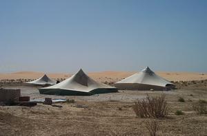 Nomadų palapinės Sacharoje