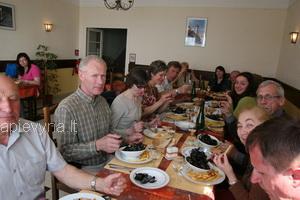 Moliuskų valgymas Cancales