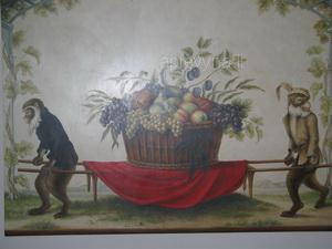 Freska Brolio pilyje